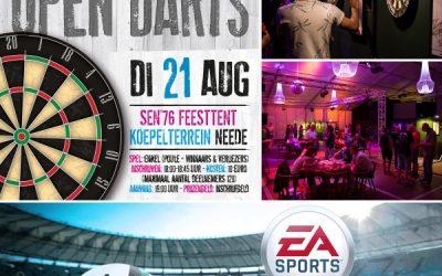SEN Open Darts en FiFa toernooi
