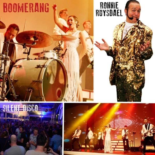 Slotavond met Boomerang, Ronnie Ruysdael en Silent Disco